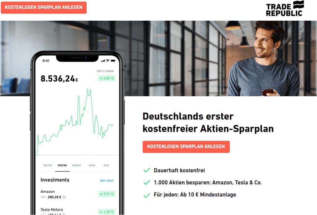 Trade-Republic-kostenfreier-Aktien-Sparplan